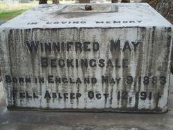 Winnifred May Beckingsale