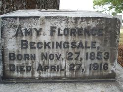Amy Florence Beckingsale