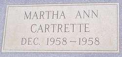 Martha Ann Cartrette