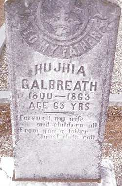 Hujhia Hugh Galbreath
