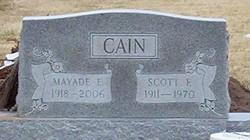 Mayade E. <i>Travis</i> Cain