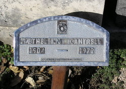 Ethel Mary <i>Hammack</i> Cantrell