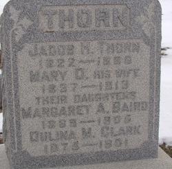 Margaret A <i>Thorn</i> Baird