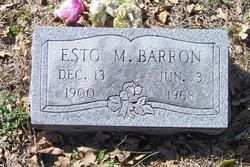 Esto M Barron