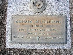 Donald Merriman Gillespie