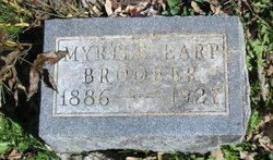 Myrtle <i>Earp</i> Brooker