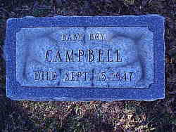 Baby Boy Campbell
