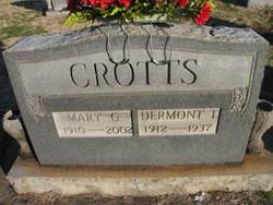 Mary Gertrude <i>Everhart</i> Crotts