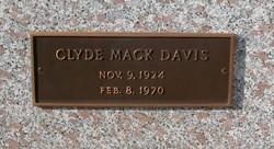 Clyde Mack Davis