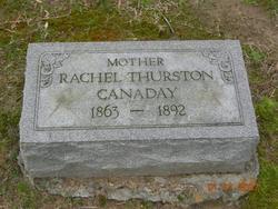 Rachel <i>Thurston</i> Canaday