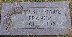 Jessie Marie <i>Pressler</i> Francis