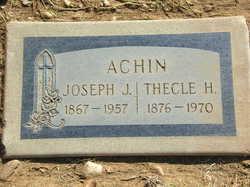 Joseph J. Achin