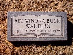 Rev Winona Buck Walters