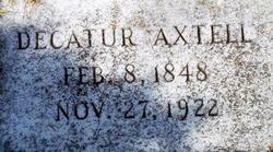 Decatur Axtell
