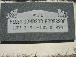 Helen <i>Johnson</i> Anderson