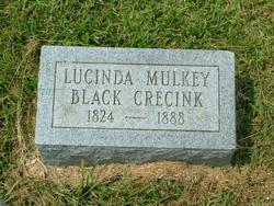 Lucinda <i>Mulkey</i> Black Crecink