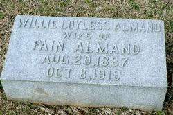 Willie <i>Loyless</i> Almand