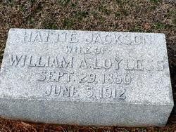 Hattie <i>Jackson</i> Loyless
