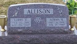 Norma K. <i>Waggoner</i> Allison