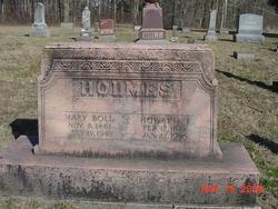 Mary <i>Boll</i> Holmes