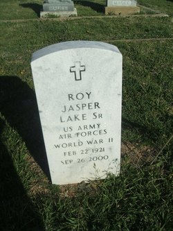 Roy Jasper Lake, Sr