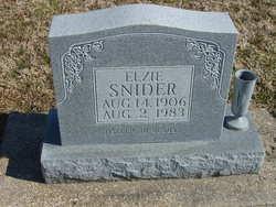 Elzie Snider