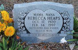 Rebecca Nana Heaps