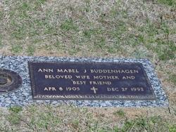 Ann Mabel <i>Jennings</i> Buddenhagen