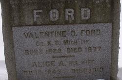 Valentine O Ford