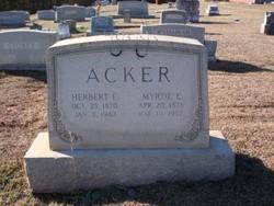 Herbert F Acker