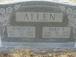 Nora Elizabeth <i>Brewer</i> Allen
