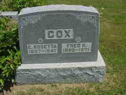 Fred Ryker Cox