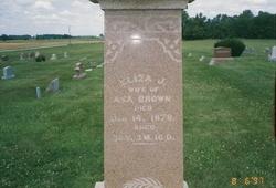Eliza Josephine <i>McCarty</i> Brown