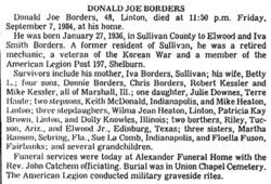 Donald Joe Borders