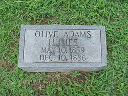 Olive T. <i>Hume</i> Adams