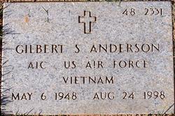 Gilbert S Anderson