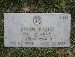 PFC John Borth