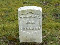 Pvt William A Bloyd