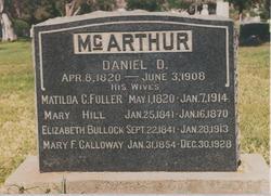 Daniel Duncan McArthur