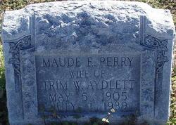 Maude E. <i>Perry</i> Aydlett