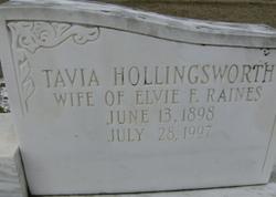 Octavia Tavia <i>Hollingsworth</i> Raines