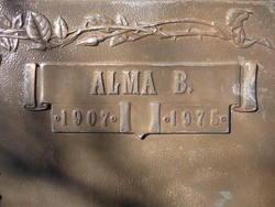 Alma Bonnie <i>Hunter</i> Teague
