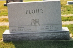 Marie L. <i>Backer</i> Flohr