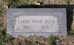 Carrie Hoxie Olive