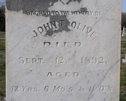 John T Olive