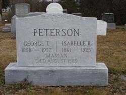 Isabelle K. <i>Willis</i> Peterson
