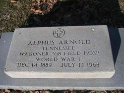 Alphus Floyd Arnold