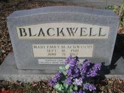 Mary Emily <i>Blackwood</i> Blackwell