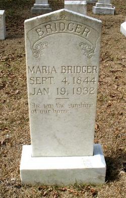 Maria Bridger