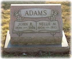 Nellie M. <i>Kurrock</i> Adams